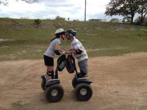Segway fun in the Bahamas