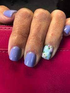 Spring nails by Meghan