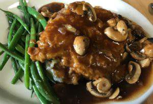 Chicken marsala at Left Fork Grill