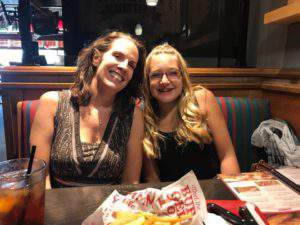 Friday favorites: dinner with Maddi at Red Robin