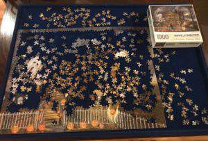 Fall bucket list - work on a jigsaw puzzle