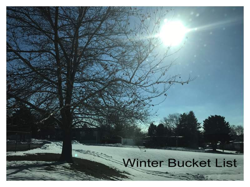 Winter Bucket List Update