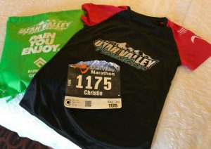 Race recap: Utah Valley 10k race packet