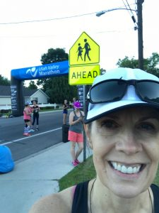 Anticipating the start of Utah Valley 10k