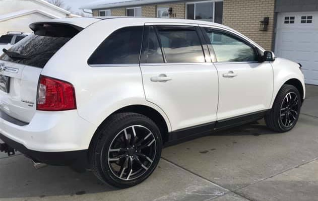 Ford Edge with new wheels
