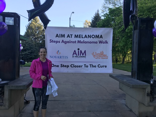 AIM at melanoma