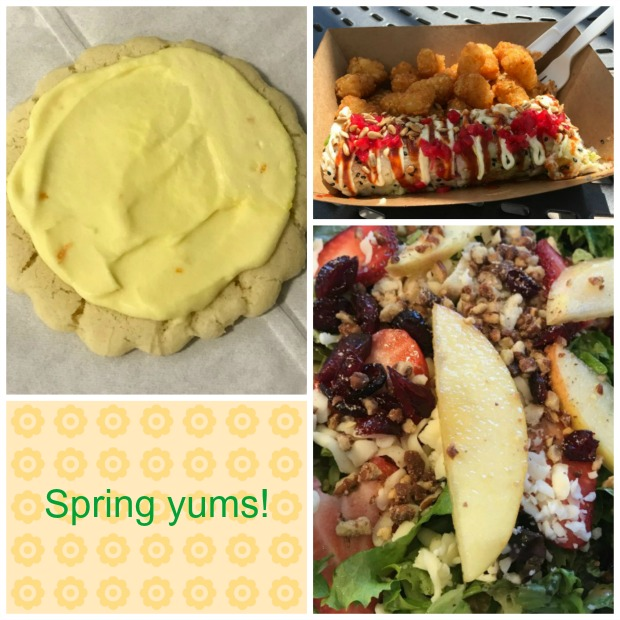 Food collage - spring treats