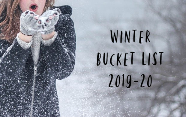 Winter Bucket List 2019-20.